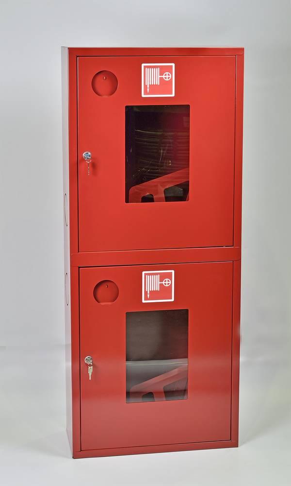 Шкаф пожарный ШПК-320-21НОК навесной открытый красный