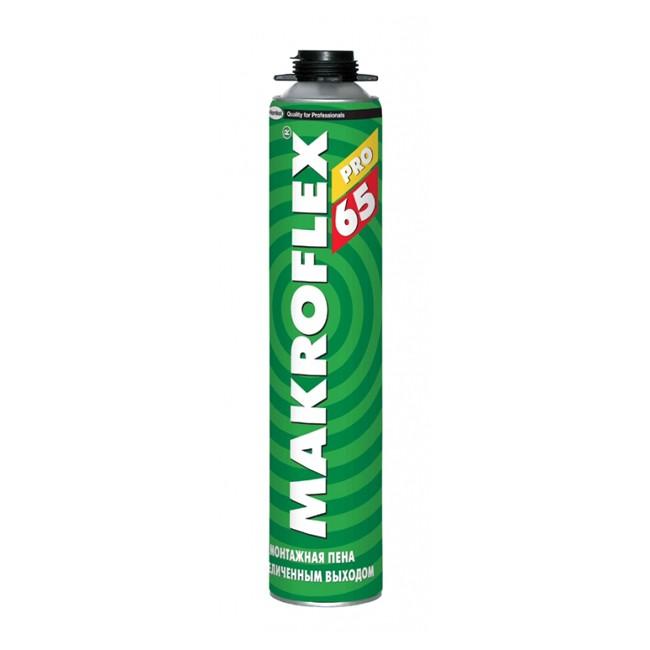 Пена монтажная Makroflex 65 PRO профессиональная