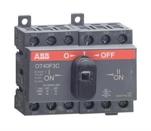 Рубильник реверсивный  ABB OT25F3С  25A. Производитель: , артикул: 36296