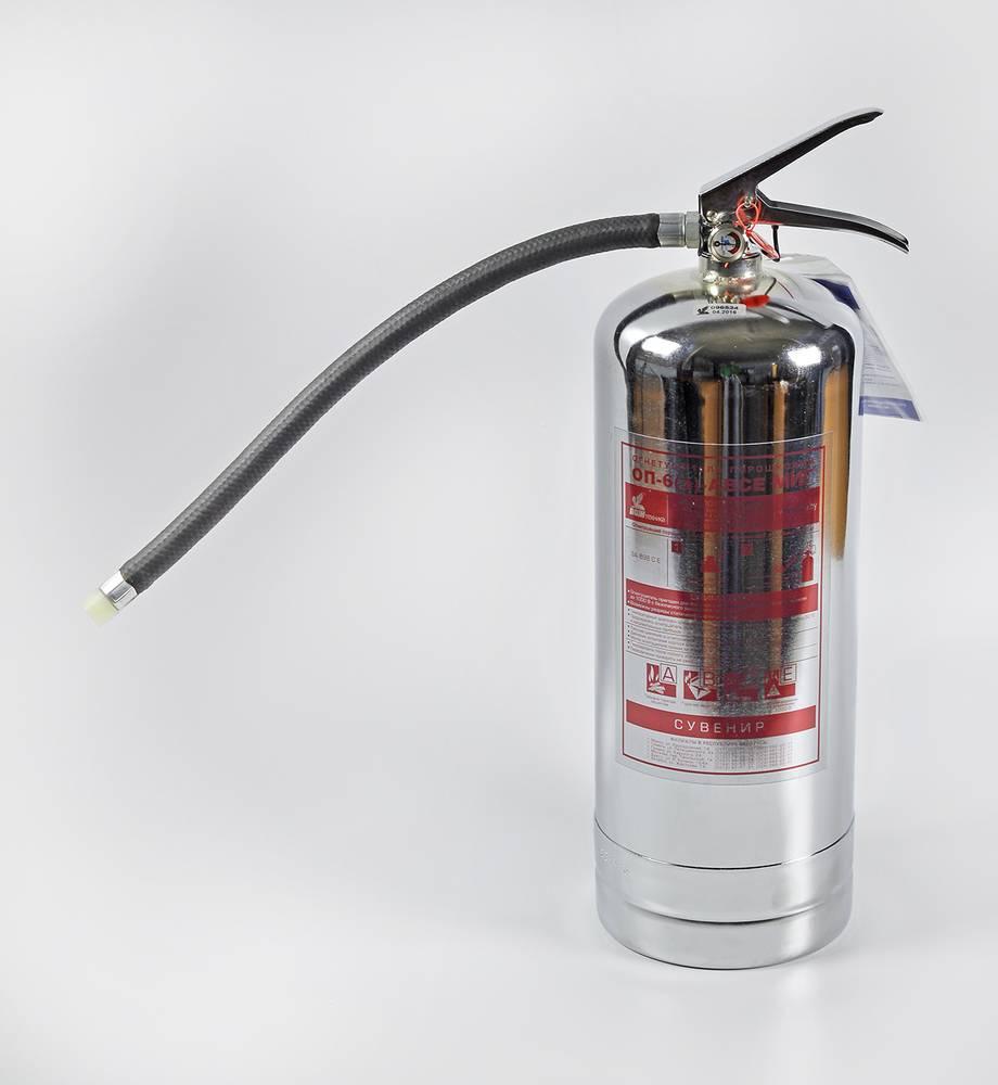 Огнетушитель порошковый ОП-6
