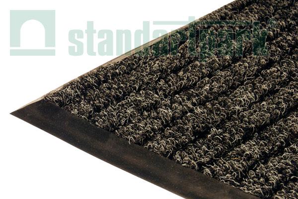Ворсовое покрытие Штрих 1х1,5 м (черный)