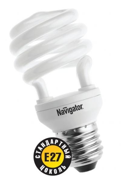 Лампа э/сб Navigator NСL-SH10-15-840-E27 холодный (15Вт)