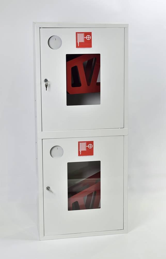 Шкаф пожарный ШПК-320-21НОБ навесной открытый белый