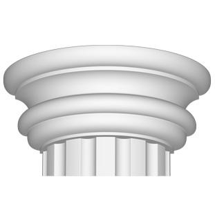 Полукапитель Decomaster 90030-3Н (размер 195х490х245)