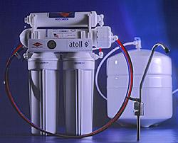Питьевой фильтр 4 ступ очистки Atoll A-460E lux (с накопит баком)