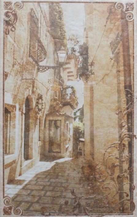 Декор Gracia Ceramica Palermo бежевый 01 25х40