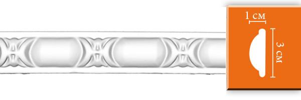 Молдинг с орнаментом Decomaster DT 8013 (размер30х10x2400)