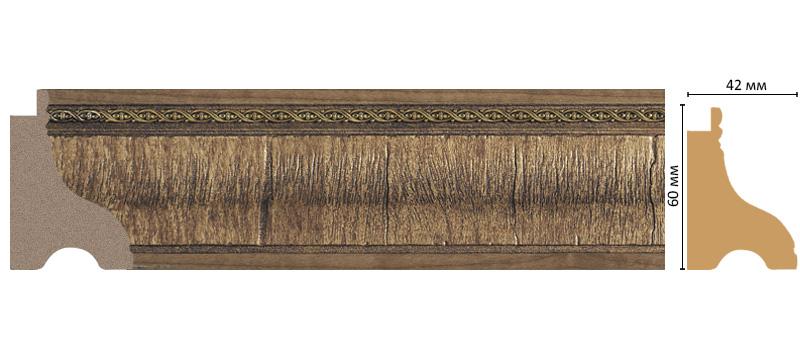 Багет Decomaster 175-3 (размер 60х42х2900)