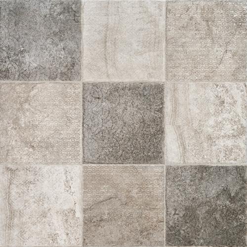 Плитка Venus Ceramica Kathmandu Decore Grey (Mix 4)
