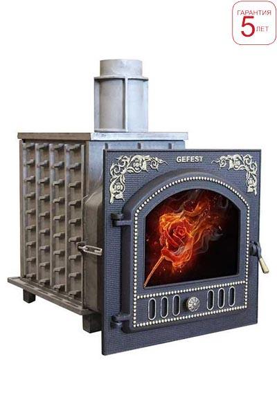 Дровяная печь Гефест ПБ-02П-ЗК от Stroyshopper