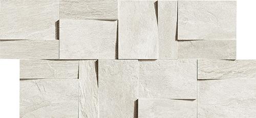 Плитка Rex Ardoise Modulo Muretto 3D Blanc 739368