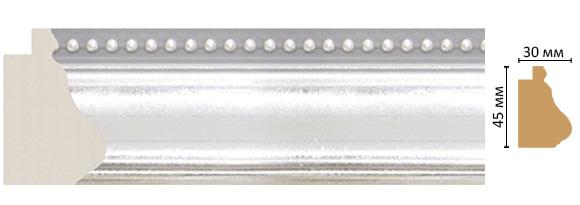 Багет Decomaster 528-1244 (размер 45х30х2900)
