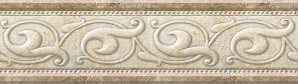 Бордюр Eco-Ceramic Rapolano List D.Olas Marfil 7х25