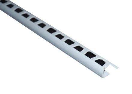 Планка для наружных углов плитки, 2.5м (белая)