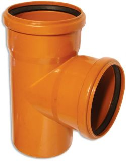 Тройник 160-110х90гр (для наруж канализации)