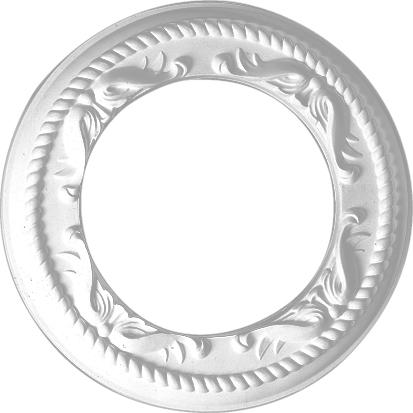 Розетка  Decomaster DR 52 (размер O 310 вн.O 190 h=20)