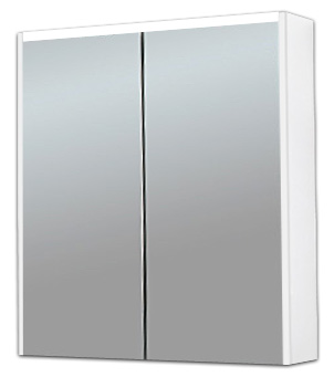 Шкаф с зеркалом BelBagno BB800BMS/BL bianco lucido