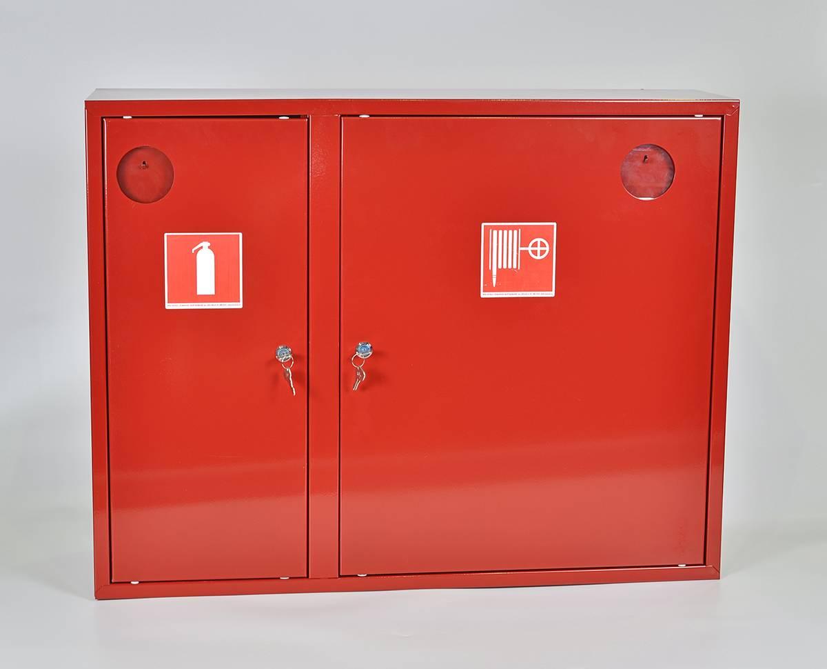 Шкаф пожарный ШПК-315НЗК навесной закрытый красный