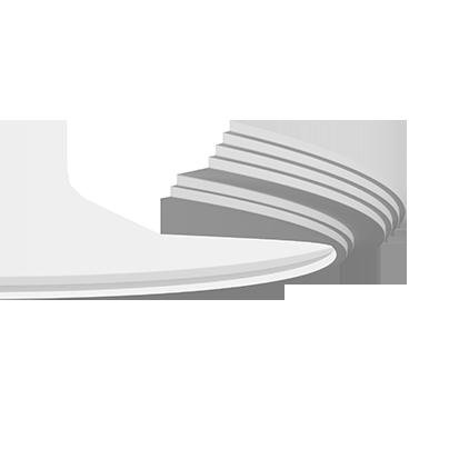 1.50.276 флекс Европласт потолочный карниз, гибкий от Stroyshopper