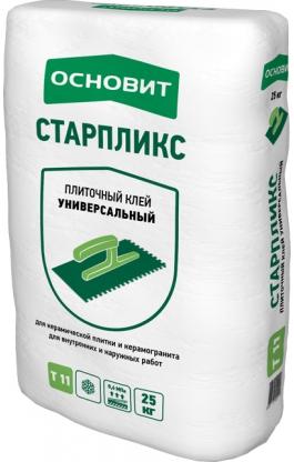 Клей плиточный Основит Старпликс AC11 (Т-11), 25кг
