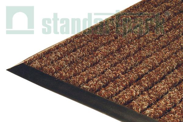 Ворсовое покрытие Штрих 1х1,5 м (коричневый)