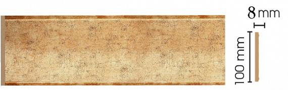 Decomaster Декоративная панель Decomaster B10-552 (100х9х2400мм) samsung rs 552 nruasl