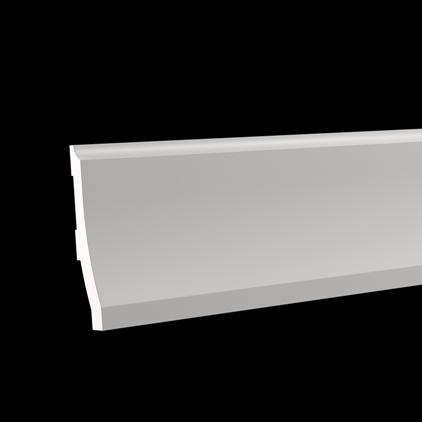 Европласт 1.53.104 Европласт напольный плинтус  плинтус legrand напольный 41х10мм 2м цвет антракцит 30092