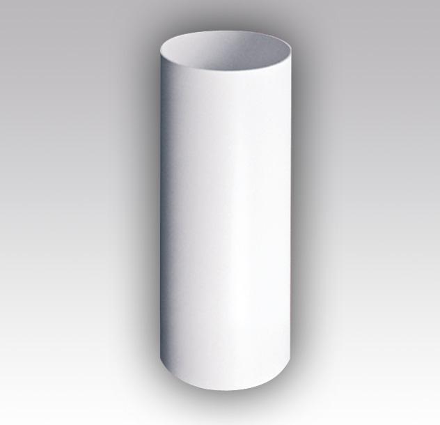 Воздуховод круглый ПВХ диам.100, 1.5 метра