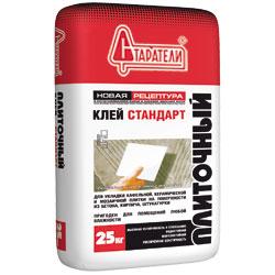 Клей плиточный Старатели Стандарт, 25 кг