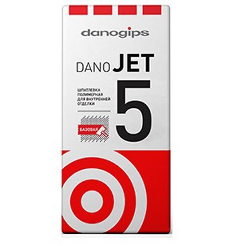 Шпатлевка выравнивающая полимерная Danogips Dano Jet 5 25 кг