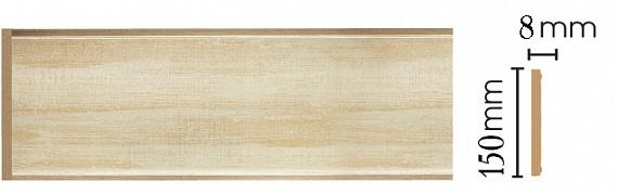 Декоративная панель Decomaster B15-281 (150х9х2400мм)