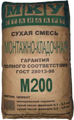 Смесь М200 Кладочная, 40кг