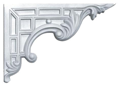 Декоративный элемент Decomaster для оформления ступеней 66201R
