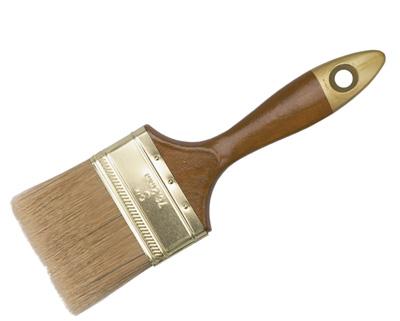 Кисть флейцевая разм. 2.5 (щетина: длина 48, толщ. 12мм)