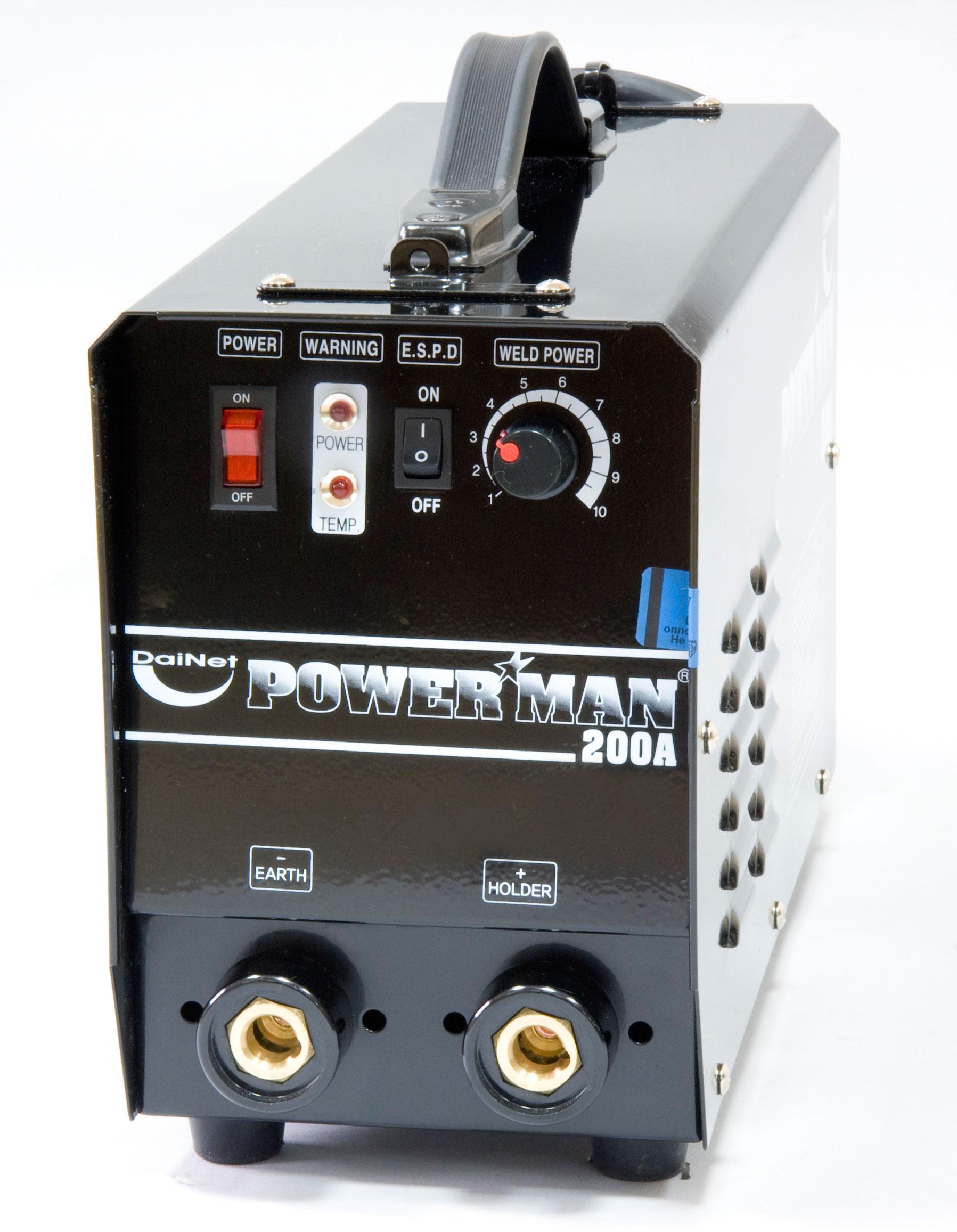 Сварочный аппарат инвекторный Powerman PM2 200А