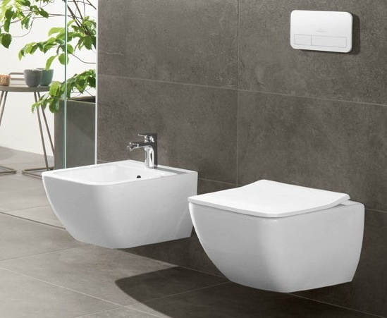Биде подвесное Villeroy and Boch Venticello 4411 00R1 alpin