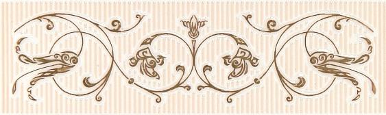 Бордюр Gracia Ceramica Анжер венге 25х7,5