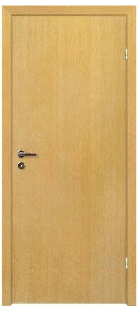 Дверь с четвертью, цвет бук(размер 0.6х2м)