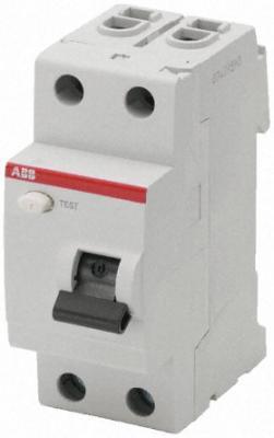 УЗО 2-полюсные ABB F202 40A 100mA