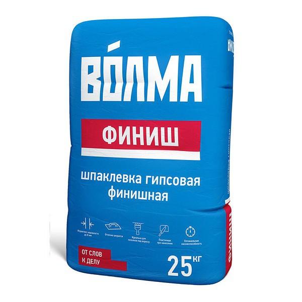 Шпатлевка гипсовая финишная Волма Финиш 25 кг