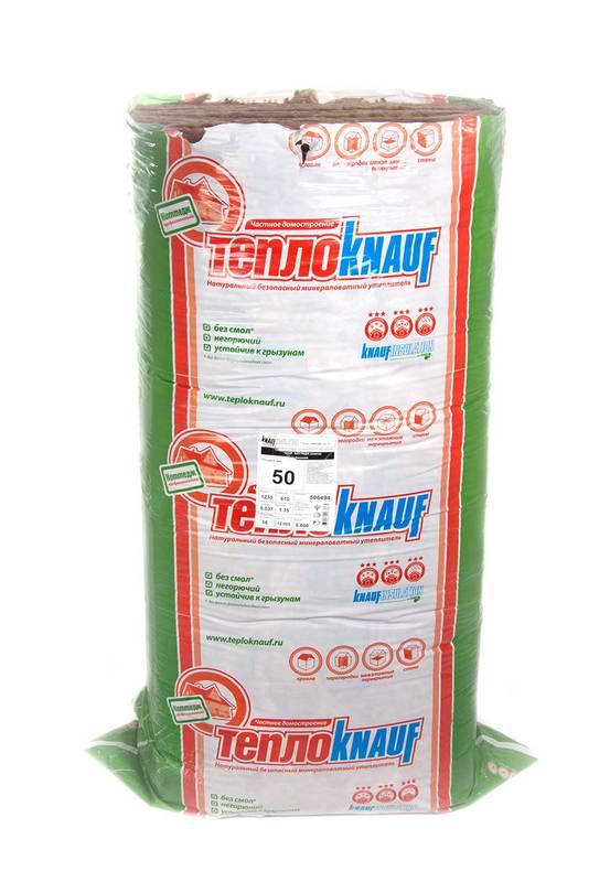 Минеральная вата KNAUF Insulation Коттедж 50 мм (плита)