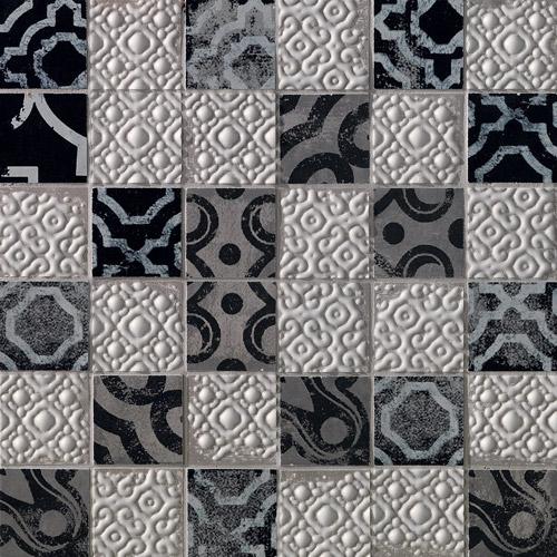 Плитка Fap Creta Mosaico Maiolica Grey fK63
