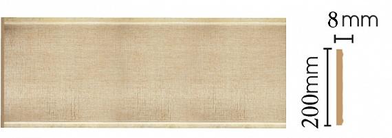 Декоративная панель Decomaster B20-933 (200х9х2400мм)
