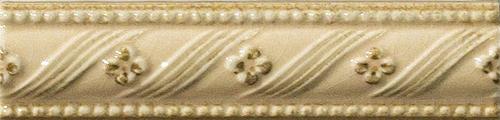 Плитка Vallelunga Rialto Crema List. Floreale Painted