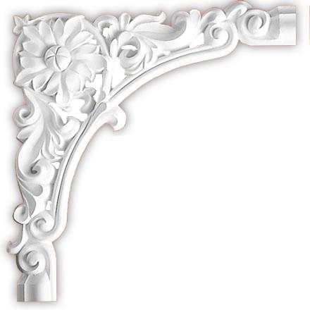 Угол декоративный Decomaster DP 304 C (размер 300х300х20)