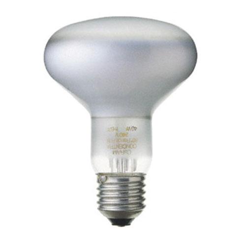 Лампа эл. накаливания зеркальная E27 R80 75Вт
