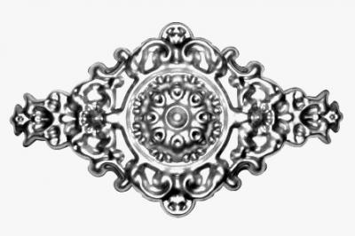Ковка Накладка Арт. 4384.01 размер 270х470х1 от Stroyshopper