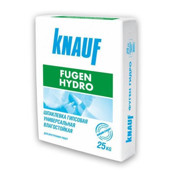 Шпатлевка гипсовая Кнауф Фуген Гидро 25 кг