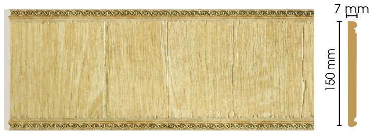 Цветная панель Decomaster С15-5 (размер 150х7х2400)