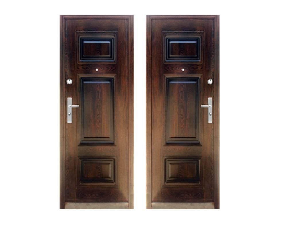 Дверь стальная 2050х860х70, модель К-115
